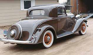 1933 Buick Ruble Seat Coupe