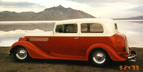 1934 Buick Custom 2-door