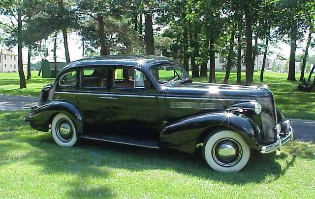 1937 Buick Sedan in the park
