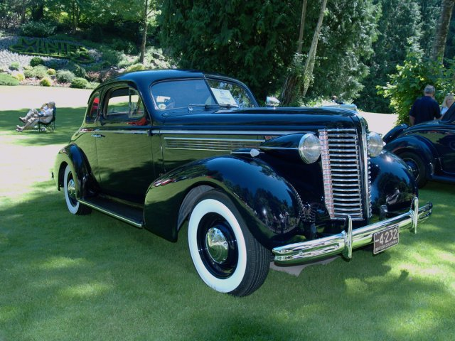 1938 Buick McLaughlin Business Coupe