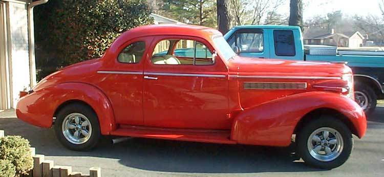 1938 Buick Special Coupe Street Rod