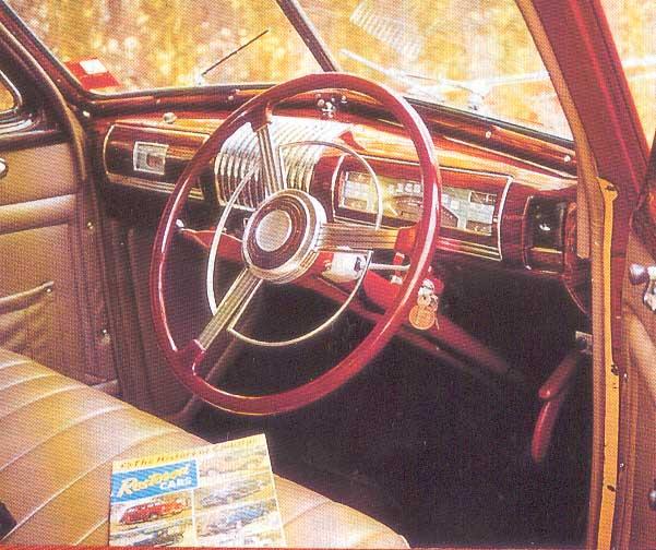 1939 Buick 46 S Interior