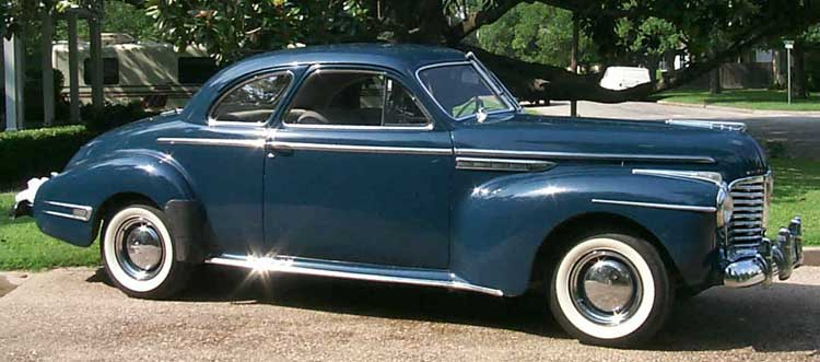 1941 Buick 56s Sport coupe