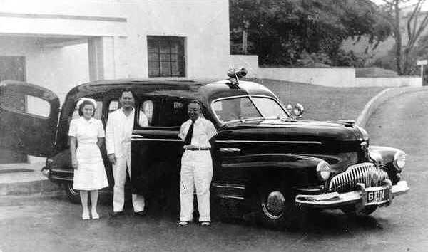 1942 Buick Flxible ambulance -...