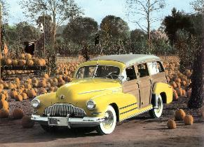 1942 Buick Station Wagon
