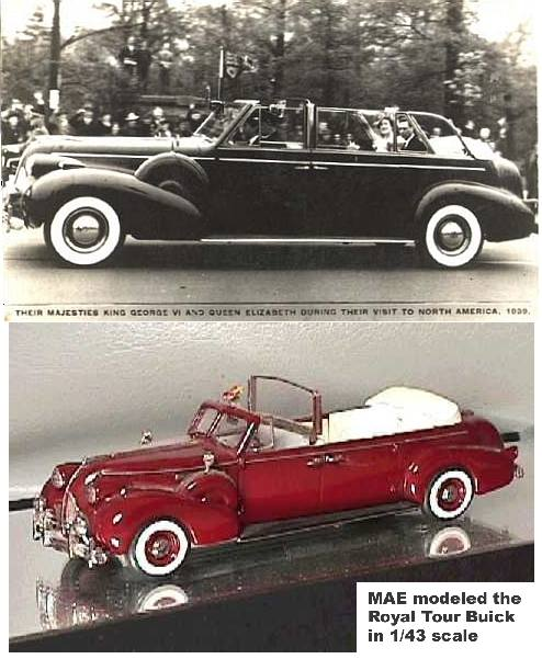 Royal Chevrolet Used Cars: 1939 Buick Royal Tour Of Canada Car