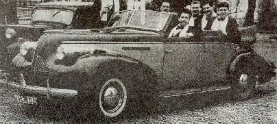1939 Russian convertible 4-door; The Odessa Gentlemen