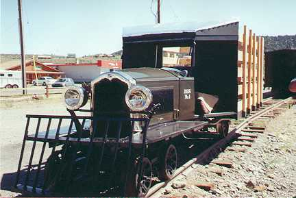 The Galloping Goose Buick Rail Motor #1