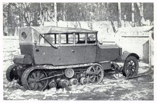 just a Rolls-Royce halftrack with skis; what did you think it was? Thanks to Andy Chrisanfov for the remarkable foto - PreWarBuick.com
