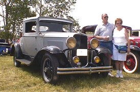 Sahara Gray 30-36S Sport Coupe  owned by Doug Bushnell  Rochester, New York