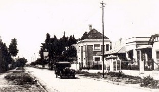 Calle Azara in the 1920s