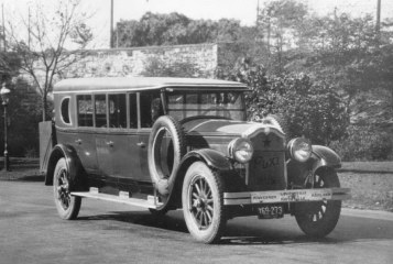 1925 Flxible on Buick chassis; photo is  from Mohican Historical Society  in Loudonville, Ohio.
