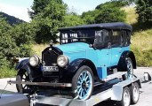 1926 Touring with all curtains up